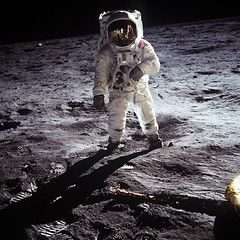 Buzz Aldrin on the Moon (NASA on The Commons) Tags: moon film buzz nikon footprints nasa hasselblad nikkor apollo armstrong aldrin moonwalk lunar spacesuit aerospace apolloxi spaceflight apollo11 projectapollo buzzaldrin neilarmstrong spaceexploration nationalaeronauticsandspaceadministration mannedspaceflight apolloproject apolloprogram edwinbuzzaldrin buzzaldrinonthemoon