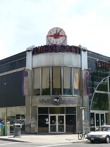 former Chevrolet Showroom, Rochester