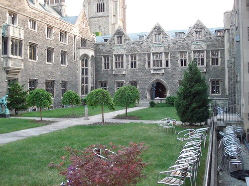 Hart House quad