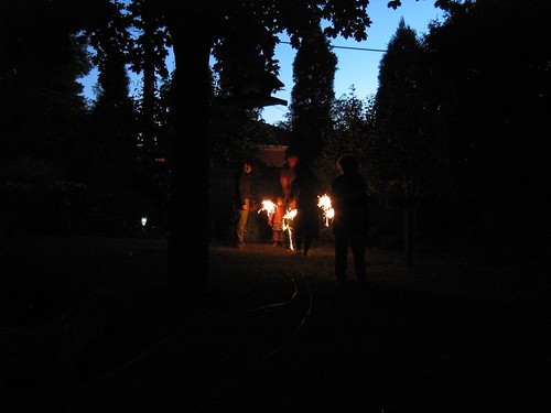 Canada Day Sparklers 1