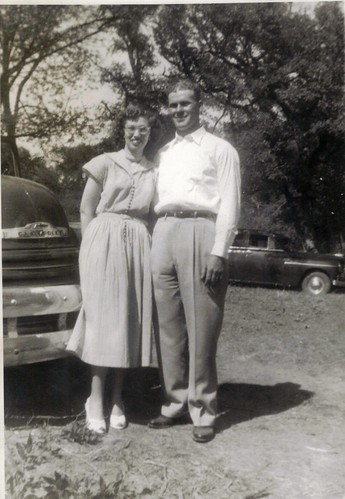 My mother & father, circa 1950