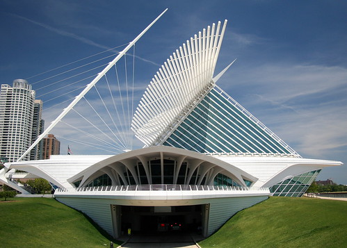 Milwaukee Art Museum - Flickr/Luiz Castro