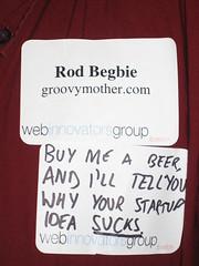 """""""Buy me a beer…"""""""