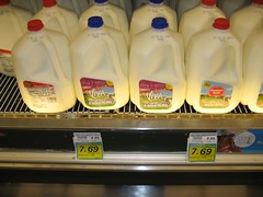 Look at the price of milk at the Princeville Foodland. (07/11/07)