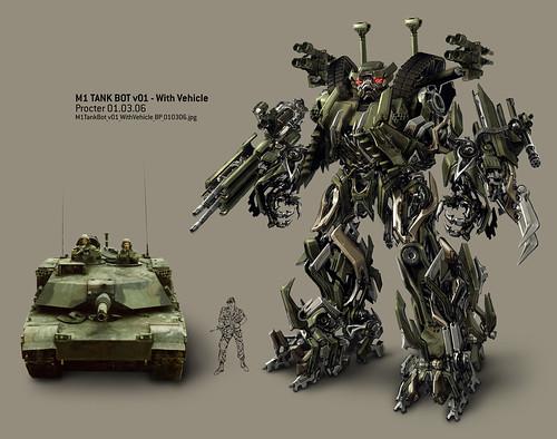 Devastator en  Transformers la pelicula