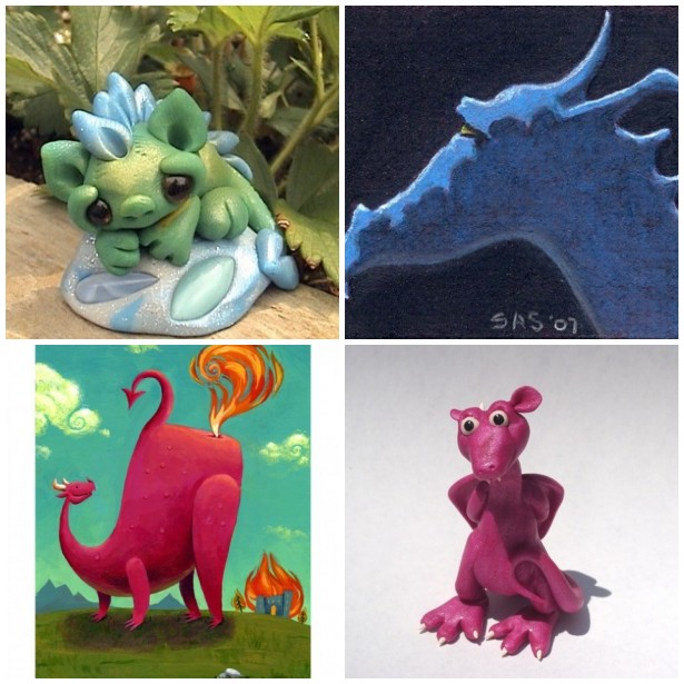 Dragons of Etsy
