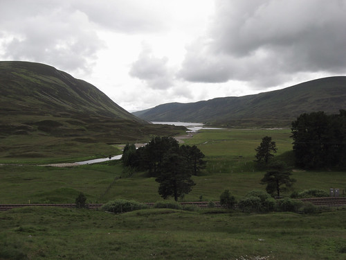 View from Pass of Drumochter