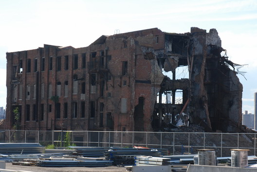 Greenpoint Terminal Market Demolition