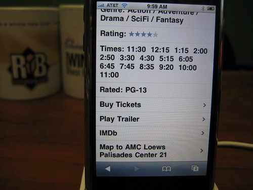 Movies App - Find Movies on iPhone