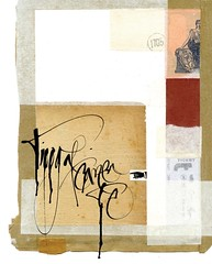 Collage Tipograficamente (yaniarabena) Tags: collage experimental caligrafa