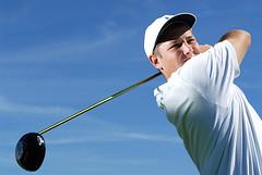 Golf (Chad Coleman) Tags: blue sky people sports golf washington unitedstates action lifestyle location athlete strobist chadcoleman
