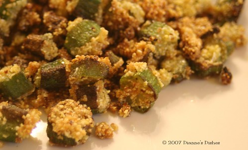 """Fried"" Okra"