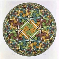 Escher - Circle Limit III 1959