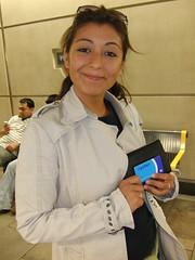 Oooh, my first Oyster card! (avazig) Tags: nuria