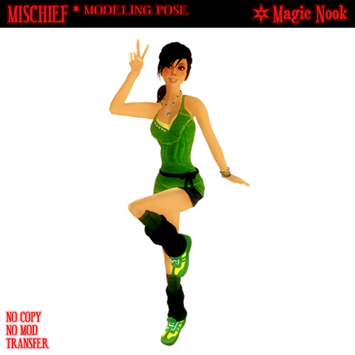 Mischief (Modeling Pose from Magic Nook)