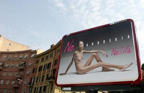 Anorexia publicidad