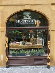 "Shop ""Manufaktura"" in Prague (Corsarz) Tags: street shop prague prag praha nerudova menufaktura"