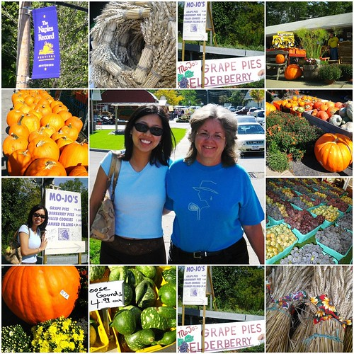 At the Fall Grape festival in Naples, NY
