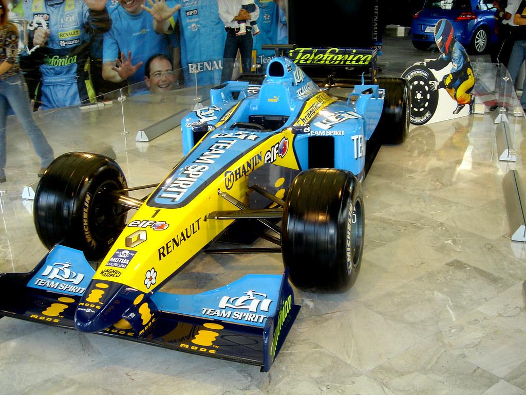 Formula 1 Renault en Guadalajara Jalisco Mexico