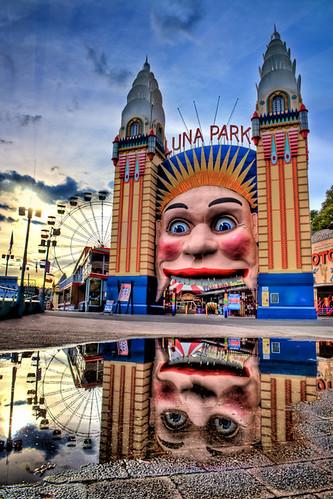 Mirrored Amusement