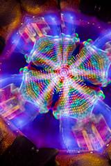 Kaleido-grater (- Hob -) Tags: lightpainting mirror raw kaleidoscope possible cheesegrater lightjunkies