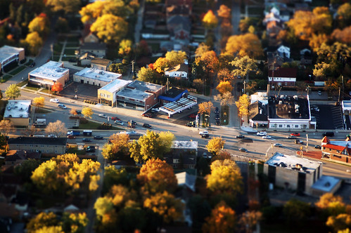 chicago - tilt shift