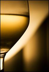Somewhere Between #ab7c32 and #f8b93c (ZinBoy) Tags: wine wineglass riedelvinumextremesauvignonblancglass onahotdayidolikearefreshingsauvignonblanc brander2008cuveenataliesauvignonblanc