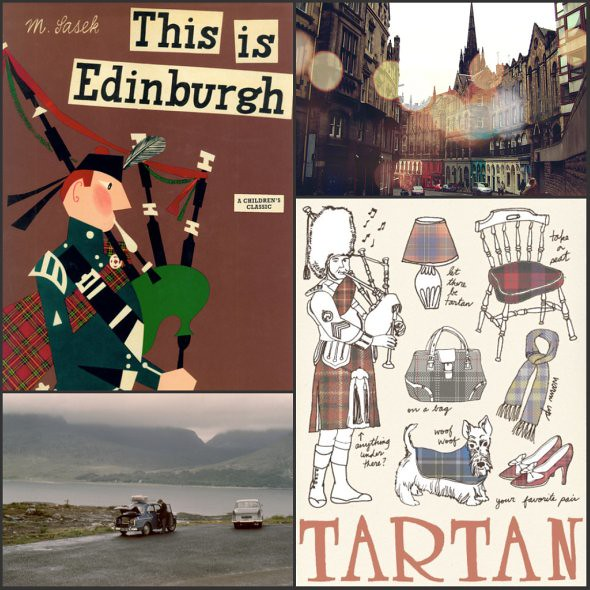 Scotland Collage