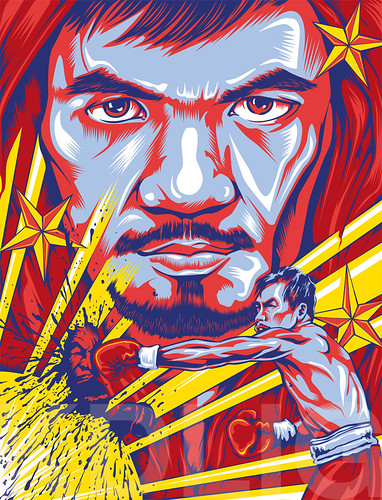 Manny Pacquiao Nike Poster by KDLIG