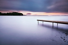 Silence (Latyrx) Tags: longexposure autumn light sunset shadow sky cloud lake water colors make hail rock clouds suomi finland dark dead photography evening photo milk cool nikon rocks soft long exposure raw mood glow moody graphic wind smoke perspective smooth sigma atmosphere windy wrong wash filter flip le single nd waters finnish longview 1020mm left flop mellow gentle density 2010 hoya mushy ambiance neutral sigma1020mm fleecy nd400 d90 goingon nd8 neutraldensity nikond90 mikkolagerstedt