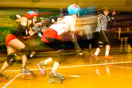 Gate City Roller Girls: Fast Roller Derby Match