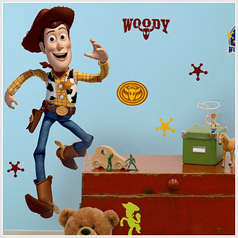 woody kids decal