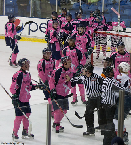 Plymouth Whalers Pink Out-7