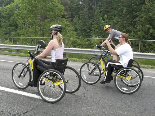 Hand-Pedaled Trikes