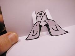 Cartão pop-up - outra idéia