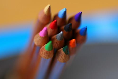 Colour Pencils by fishglue.