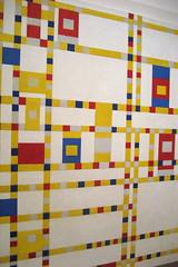 NYC - MoMA: Piet Mondrian's Broadway Boogie Woogie