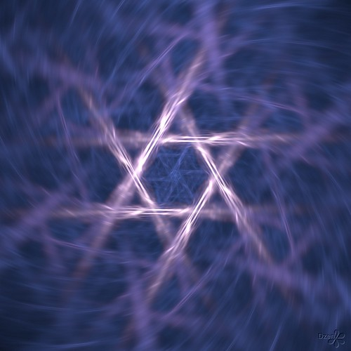 Lightning Star of David