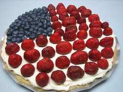 fruit pizza for the 4th