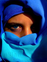 the blue (nyah74) Tags: blue shadow portrait me self silk vivid on sefportrait blueribbonwinner 25faves fivestarsgallery 1on1peoplephotooftheday 5for2 top20blue platinumheartaward 1on1peoplephotoofthedayjuly2007 nyah74
