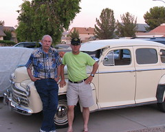 Uncle Chuck, the old Ford, and Smittie