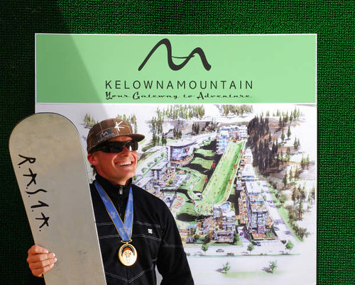 Ross Rebagliati Named New Snowboard and Ski Director for Kelowna Mountain