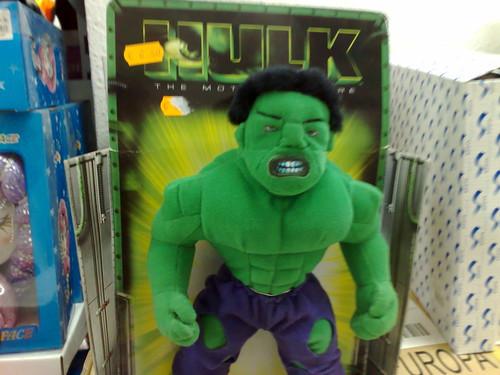 Peluche de Hulk