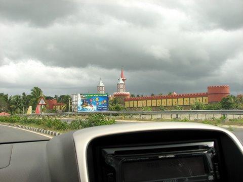 theme park Road to Mysore 150707