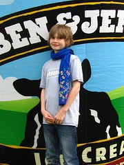 Gab at Ben & Jerry's Festival