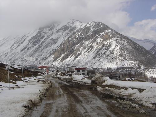 Calles de Nyalam