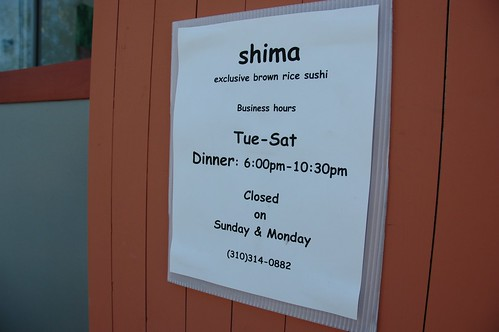 Shima • Abbott Kinney Blvd. Venice Beach California