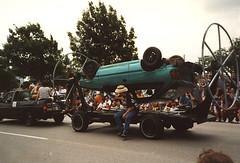 rotisserie car (Jean Arf) Tags: houston artcarparade