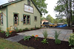 New Patio at the Queen of Tarts!