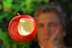 Paradise lost? (petervanallen) Tags: eve adam apple garden lost nikon paradise faith religion science gravity bible eden milton newton certainty d80